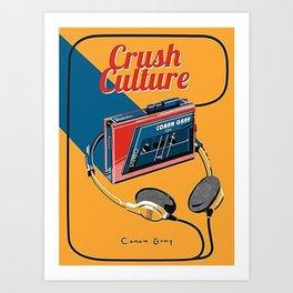 conan gray crush culture Art Print