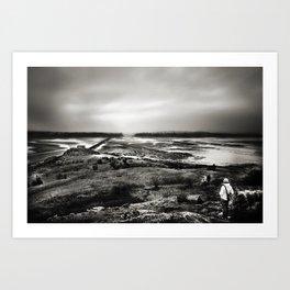 Cramond, Scotland Art Print