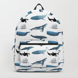 Various Whales Backpack
