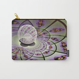 Fractal Within a Fractal Carry-All Pouch