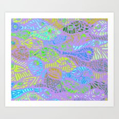 fishy fishy fishy Art Print