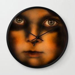 The Vampire stare Wall Clock
