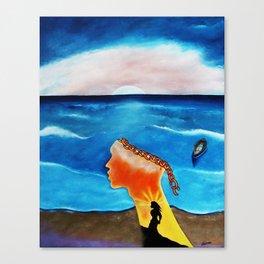 UNCHAIN THE DREAM Canvas Print