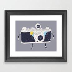 Old Skool Cam Framed Art Print