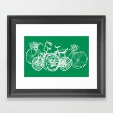 3bikes Framed Art Print
