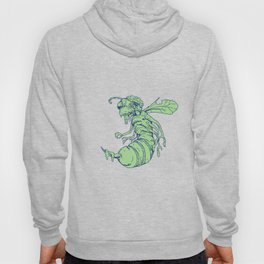 Zombie Bee Cartoon Hoody