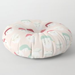 Santas - Blush Floor Pillow