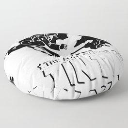 tintin Floor Pillow