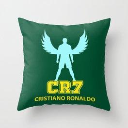 Angel Cristiano CR7 Throw Pillow