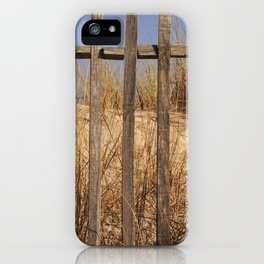 Fence to the Sky! iPhone Case