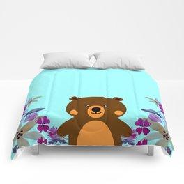 Cute Baby Bear Comforters