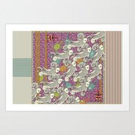 Vortici Art Print