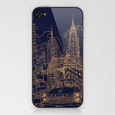 New York! Night iPhone & iPod Skin