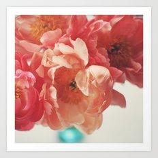 Paeonia #5 Art Print