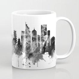 Ho Chi Minh City Vietnam Skyline BW Coffee Mug