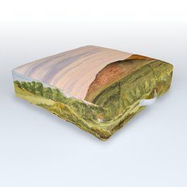 Royal County Down Golf Course Outdoor Floor Cushion