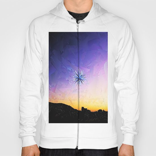 Star Over Bethlehem Abstract Hoody