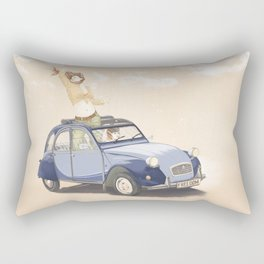 Freedom Drive Rectangular Pillow
