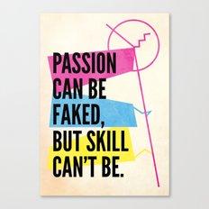 #passion Canvas Print