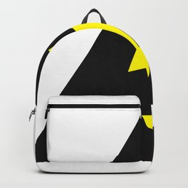 electric current danger signal Backpack
