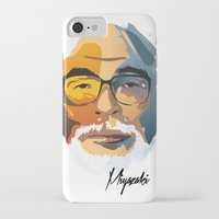 nausicaa iPhone & iPod Cases featuring Miyazaki by zero Bounty