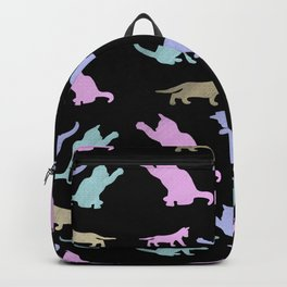 Cat lovers pattern Backpack