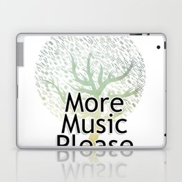 More Music Please Laptop & iPad Skin