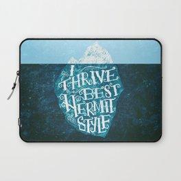 Hermit Iceberg Laptop Sleeve