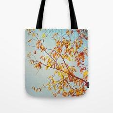 textured leaves. Tote Bag