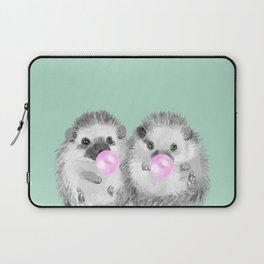 Playful Twins Hedgehog Laptop Sleeve