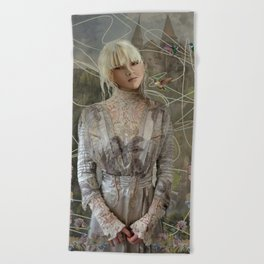 Сastles of my dreams Beach Towel