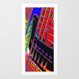 Guitar I Art Print