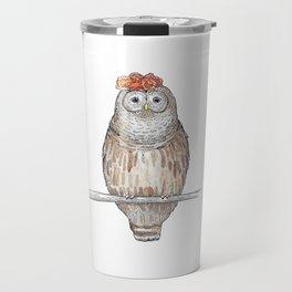 Fancy Owl Travel Mug