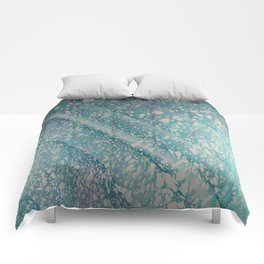 Waves of Time Water Marbling Comforters
