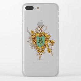 Beauxbaton Crest Clear iPhone Case