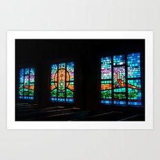 Congregational Color Art Print
