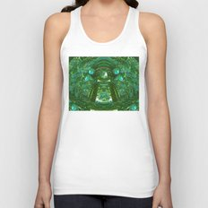 Abstract Gazebo Unisex Tank Top