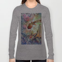 Nursing Fairies and a Sick Dragon Long Sleeve T-shirt