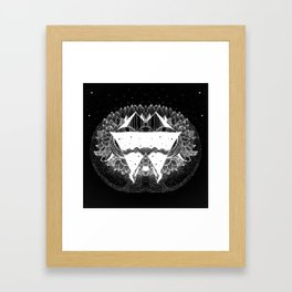 Some there in the universe Framed Art Print