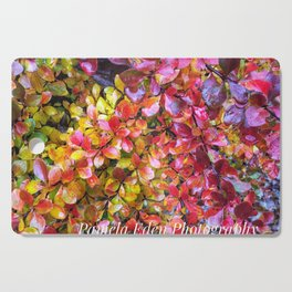 Barberry Fall Colors Cutting Board