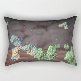 Monoclonal antibody binding to EGFR Rectangular Pillow
