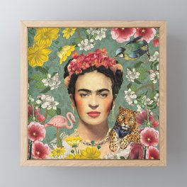 Frida Kahlo X Framed Mini Art Print