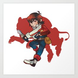 Red Lion / Keith Art Print