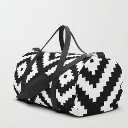 Tribal B&W Duffle Bag