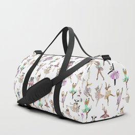 Animal Square Dance Hipster Ballerinas Duffle Bag