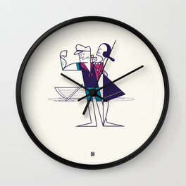 We will sail away Wall Clock