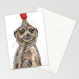 Meerkat Party Stationery Cards