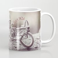 florence Mugs featuring Florence by farsidian