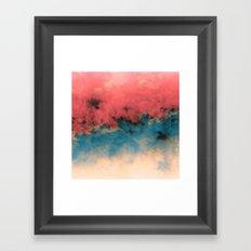 Summer Simmer Framed Art Print