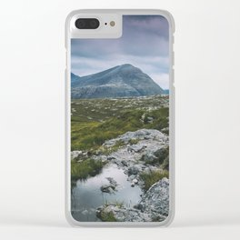 Wester Ross Landscape Clear iPhone Case